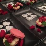 macarons framboises menu saint Valentin