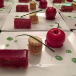 Foie gras mi-cuit et sa pomme d'amour