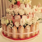 Gâteau de fleurs - mariage